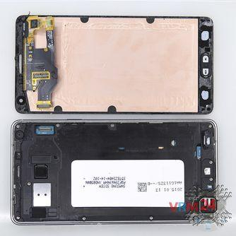 How to disassemble Samsung Galaxy A7 SM-A700, Step 1/1