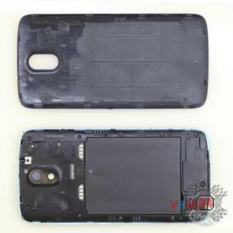 How to disassemble HTC Desire 326G, Step 1/2