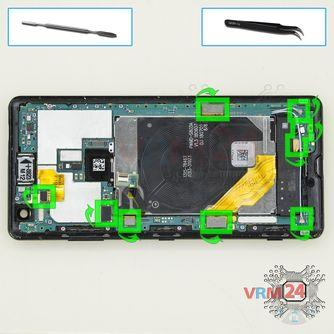 How to disassemble Sony Xperia XZ3, Step 12/1