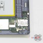 How to disassemble Huawei MediaPad T3 (10''), Step 12/2