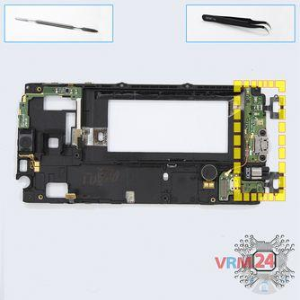 How to disassemble Samsung Galaxy A3 SM-A300, Step 9/1