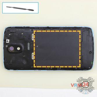 How to disassemble HTC Desire 326G, Step 2/1
