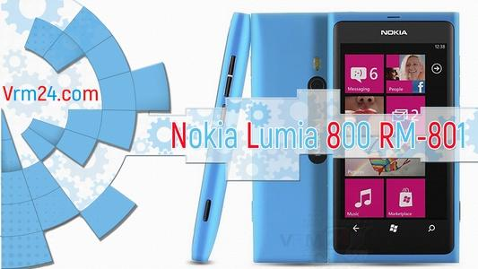 Technical review Nokia Lumia 800 RM-801