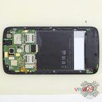 How to disassemble HTC Desire 326G, Step 5/2