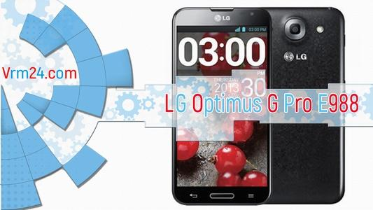 Technical review LG Optimus G Pro E988