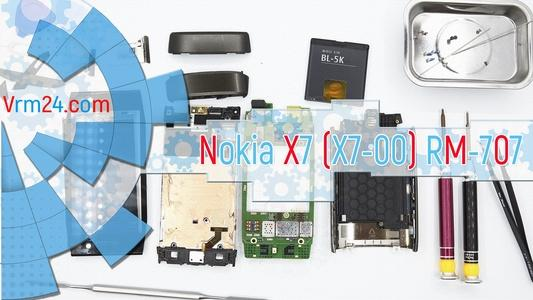Technical review Nokia X7 (X7-00) RM-707