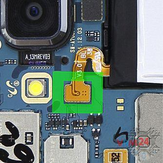 How to disassemble Samsung Galaxy A7 SM-A700, Step 6/2