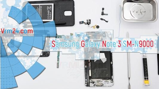 Technical review Samsung Galaxy Note 3 SM-N9000