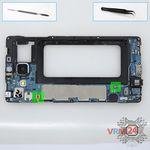 How to disassemble Samsung Galaxy A7 SM-A700, Step 8/1
