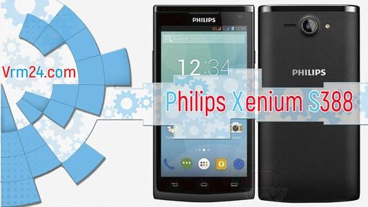 Technical review Philips Xenium S388