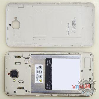 How to disassemble Huawei Honor 4C Pro, Step 1/2