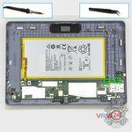 How to disassemble Huawei MediaPad T3 (10''), Step 12/1