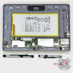 How to disassemble Huawei MediaPad T3 (10''), Step 9/2