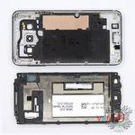 How to disassemble Samsung Galaxy A3 SM-A300, Step 3/2