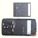 How to disassemble HTC Desire 326G, Step 2/2
