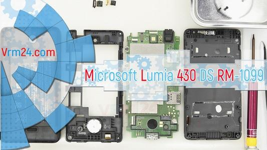 Technical review Microsoft Lumia 430 DS RM-1099