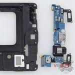 How to disassemble Samsung Galaxy A7 SM-A700, Step 9/2