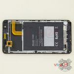 How to disassemble Doogee X20, Step 13/1