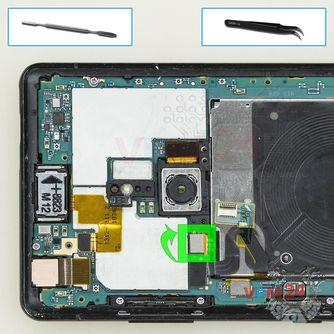 How to disassemble Sony Xperia XZ3, Step 8/1