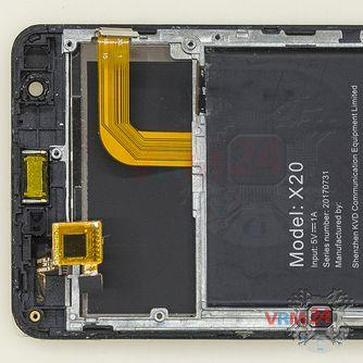 How to disassemble Doogee X20, Step 13/2