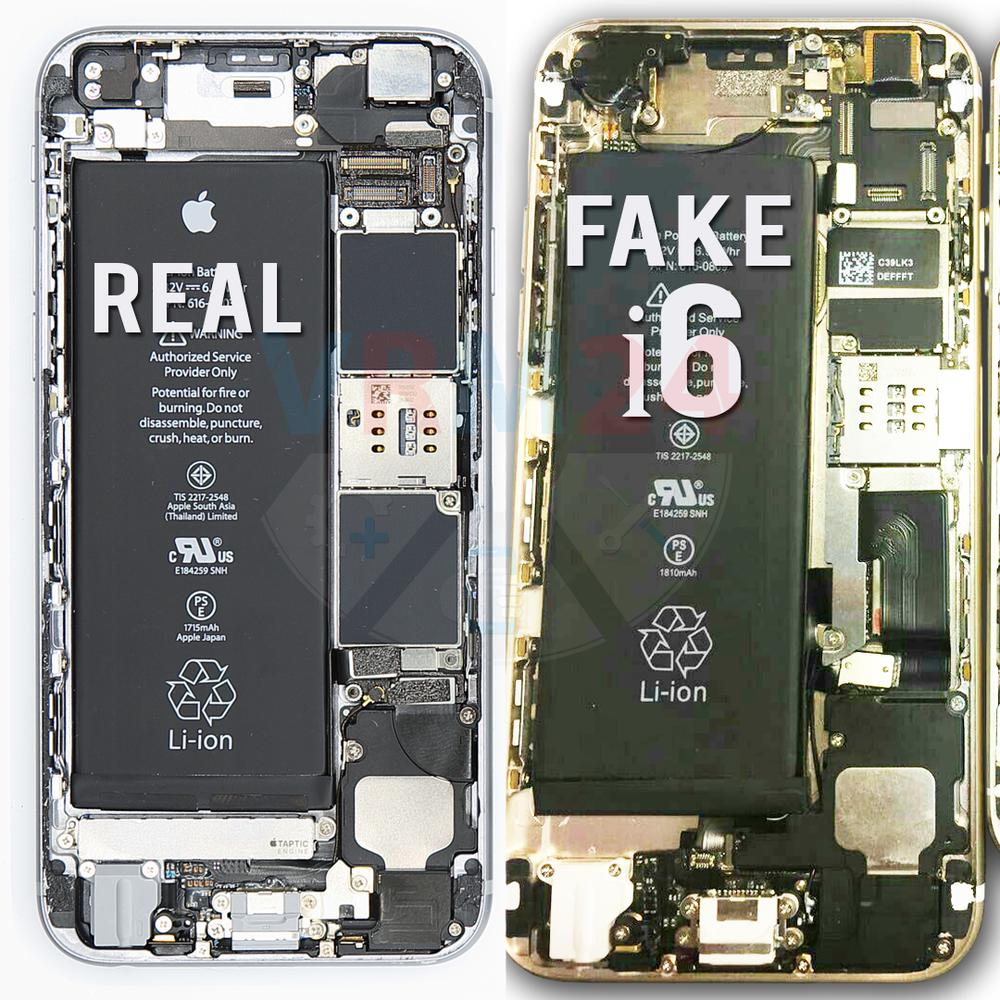 fake vs real iPhone6